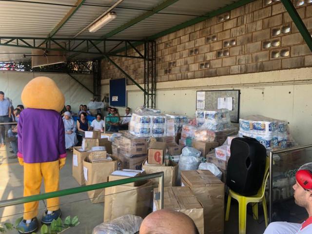 Donativos do Dia C, são doados pela COOPATOS