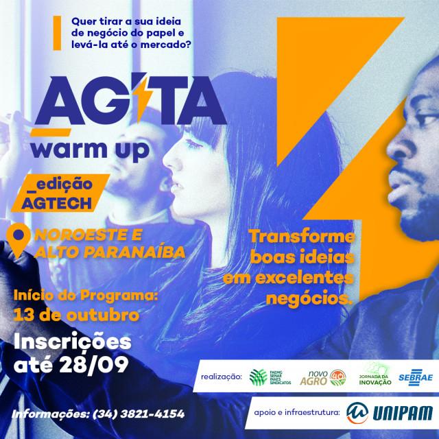 Coopatos no AGITA Warm Up