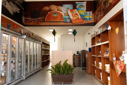 Nova loja de Leite & Derivados